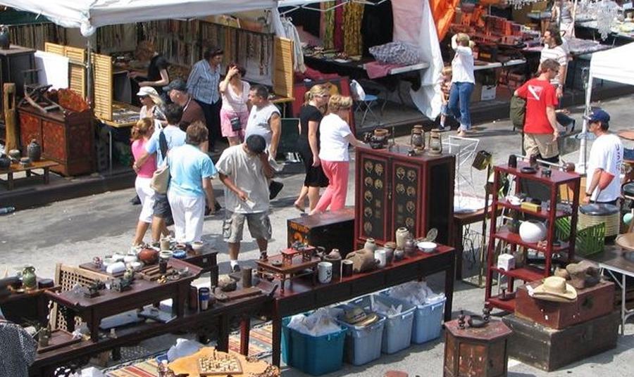 Flea Market Season In Nyc